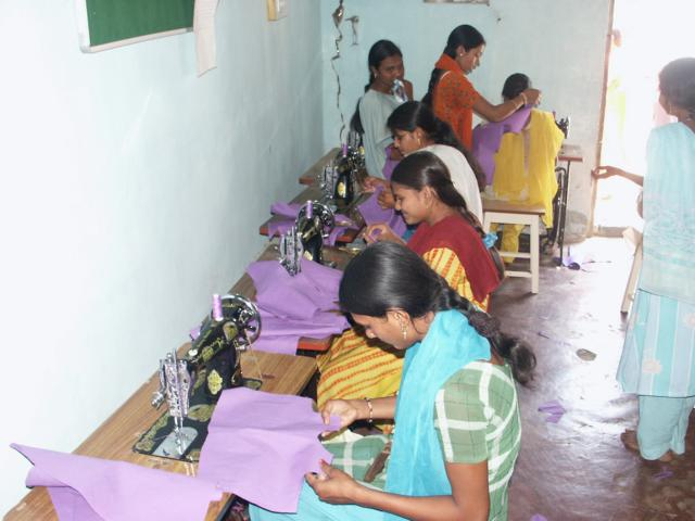 A Sewing Class in the Shedeshwar Subcentre